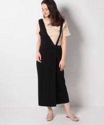 LUI'S WOMEN/【Lui'sレディース】アシメストラップニットジャンパースカート/503139209