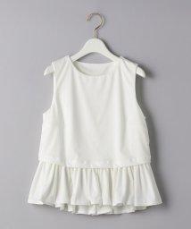 UNITED ARROWS/【別注】<TAARA clothing(タアラ クロージング)>ラッフル タンクトップ/503140910