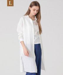 MACKINTOSH LONDON/【L】70フレンチ麻ロングシャツ/503152670