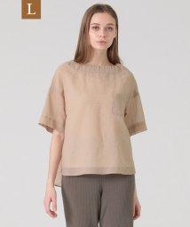 MACKINTOSH LONDON/【L】コットンボイルストライプシャツ/503152673