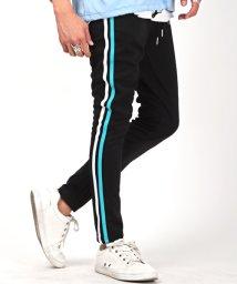 LUXSTYLE/刺繍入りジャージパンツ/ジャージパンツ メンズ サイドライン 刺繍 ジャージ/503159973