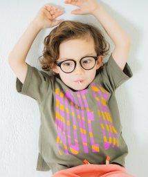 branshes/恐竜バックプリント半袖Tシャツ/503159979