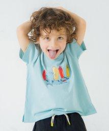 branshes/【WEB限定】裾スリット半袖Tシャツ/503159982