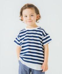 branshes/【WEB限定】重ね着風半袖Tシャツ/503159983