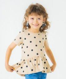 branshes/【WEB限定】裾フリル半袖Tシャツ/503159992