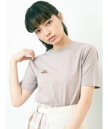 merry jenny/2匹のくまさん刺繍Tシャツ/503160693