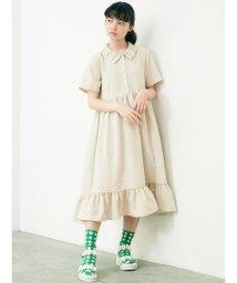 merry jenny/くるくるカラーシャツワンピース/503160694