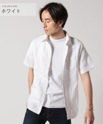 THE CASUAL/(バイヤーズセレクト) Buyer's Select 麻100フレンチリネン半袖シャツ/503160963