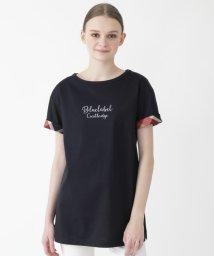 BLUE LABEL CRESTBRIDGE/コンパクトクリアジャージーロングTシャツ/503161361