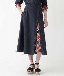 BLUE LABEL CRESTBRIDGE/パウダーポプリンスカート/503161363