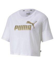 PUMA/ESS+ ウィメンズ クロップド Tシャツ 半袖/503163821