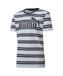 PUMA/キッズ ESS ストライプ ロゴ Tシャツ 半袖/503163848