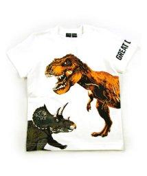 BE-ZIGY/半袖Tシャツ 恐竜続き柄/503165260