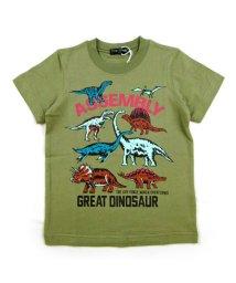 BE-ZIGY/半袖Tシャツ 恐竜集合柄/503165261