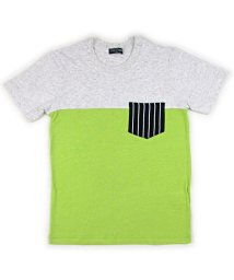 BE-ZIGY/半袖Tシャツ バイカラーポケット付/503165263