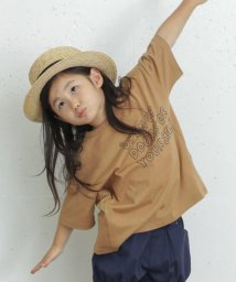 URBAN RESEARCH DOORS(Kids)/【別注】highking×DOORS サイドポケットTシャツ(KIDS)/503165656