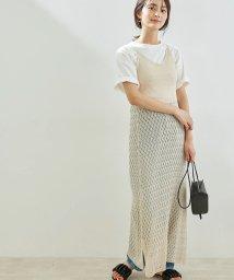 ROPE' PICNIC/【WEB限定】透かし編みキャミワンピース/503165825
