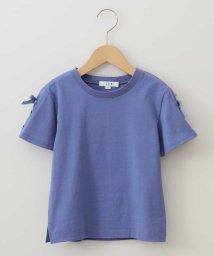 a.v.v(KID'S)/[100-130]レースアップデザイン半袖Tシャツ[WEB限定サイズ]/503013182