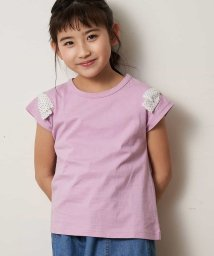a.v.v(KID'S)/[100-130]ショルダーリボン半袖Tシャツ[WEB限定サイズ]/503013183