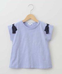 a.v.v(KID'S)/[160]ショルダーリボン半袖Tシャツ[WEB限定サイズ]/503013191
