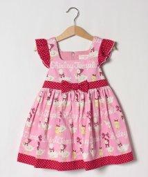 ShirleyTemple/あひる&ひよこボーダープリントジャンパースカート(100~130cm)/503051938
