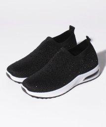 Shoes in Closet/ビジューメッシュスニーカー/503139146