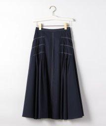 EMMEL REFINES/〔ハンドウォッシャブル〕FC HW C/TYP デザインタック スカート/503140974