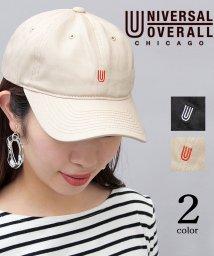 AMS SELECT/【UNIVERSAL OVERALL/ユニバーサルオーバーオール】ツイルコットン刺繍ローキャップ/503145696