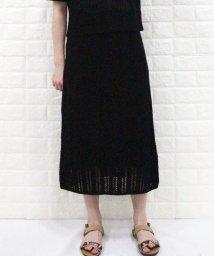 fredy emue/透かし柄ニットスカート/503151829
