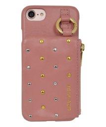 Mーfactory/iPhone SE(第2世代)/8/7/6s/6 ROSEBUD [コインケース付き背面ケース/ピンク]/503165219