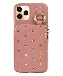 Mーfactory/iPhone 11 Pro_ROSEBUD [コインケース付き背面ケース/ピンク]/503165221