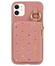 Mーfactory/iPhone 11_ROSEBUD [コインケース付き背面ケース/ピンク]/503165223