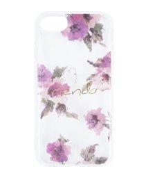 Mーfactory/iPhone SE(第2世代)/8/7/6s/6 rienda[TPUクリア/Parm Flower]インモールドケース/503165226