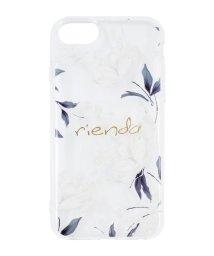 Mーfactory/iPhone SE(第2世代)/8/7/6s/6 rienda[TPUクリア/Grace Flower]インモールドケース/503165227