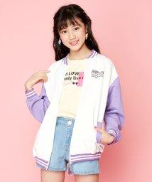 JENNI love/【ニコ☆プチ6月号掲載】防蚊UVカットバイカラーブルゾン/503165771