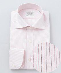 gotairiku/【形態安定】PREMIUMPLEATS ドレスシャツ / ワイドカラー レッドS/503166214