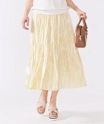 Feroux/【人気のため新色追加】オーロラサテンプリーツ スカート II/503166238