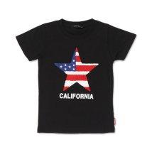 NEXT WALL/「120-03」キッズ Tシャツ 子供服 半袖 男の子 ボーイズ ティーシャツ プリント サガラ ワッペン ロゴ ジ/503167373