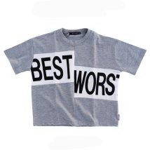 NEXT WALL/「120-09」キッズ Tシャツ 子供服 半袖 五分袖 5分袖 ビッグ BIG 男の子 ボーイズ ティーシャツ プリント/503167379