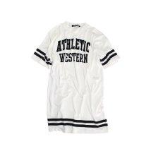 NEXT WALL/「220-03」キッズ ワンピース 子供服 半袖 女の子 ガールズ ビッグ BIG  Tシャツ プリ/503167393