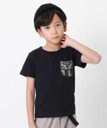 devirock/柄ポケットTシャツ/503167804