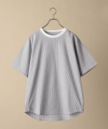 SHIPS MEN/SC: COOL MAX(R) シアサッカー クルーネック Tシャツ/503168005