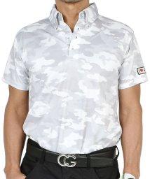 SantaReet/【COMON GOLF】吸汗速乾ドライ素材総柄半袖ゴルフポロシャツ(CG-SP015N)/503168043