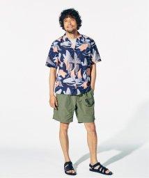 417 EDIFICE/LE FRANCAIS CHIC ソウガラ オープンカラーシャツ/503169090