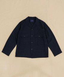 SHARE PARK /リネンライクミリタリーシャツジャケット/503169161