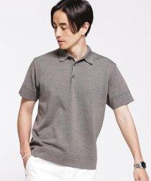 nano・universe/思いきり洗えるニットファインゲージポロシャツ半袖/503095736