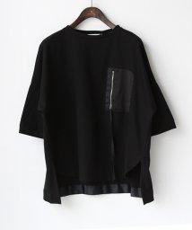 REAL CUBE/ZIPポケットデザインカットソー/503155321