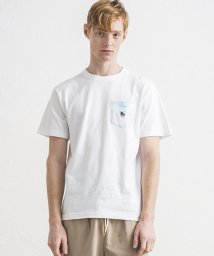 OFF SHORE/OS LOGO PRINT POCKET TEE/503167246