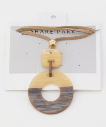 SHARE PARK /2トーンラウンドネックレス/503169661
