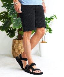 JIGGYS SHOP/カットサッカーイージーショーツ / ハーフパンツ メンズ ショートパンツ 膝上 短パン/503170009